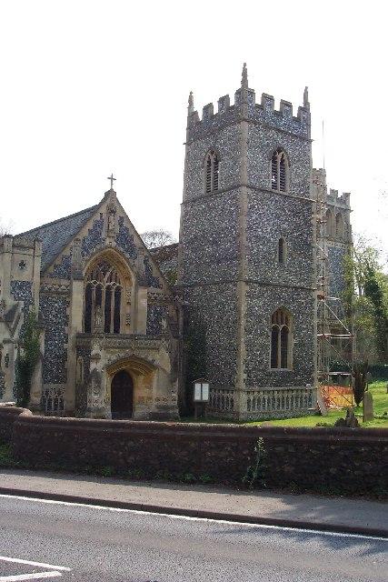 Elveden church