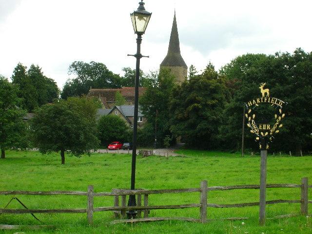 Hartfield village