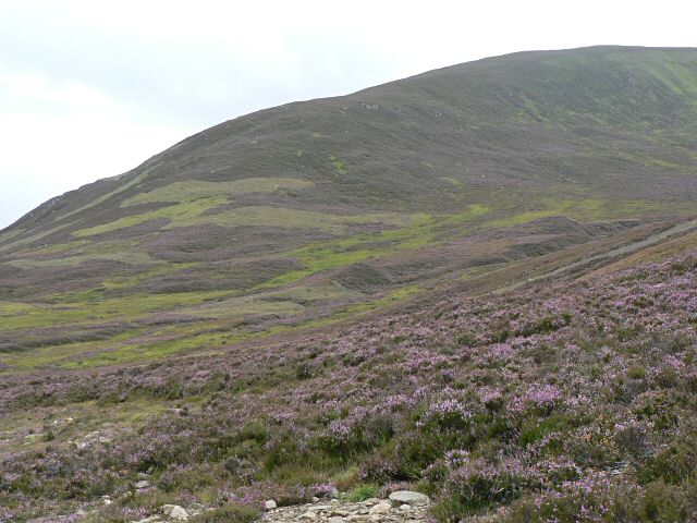 Southern ridge of Coire na Meanneasg