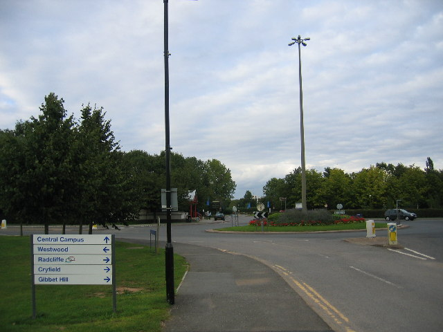 Westwood Heath Roundabout