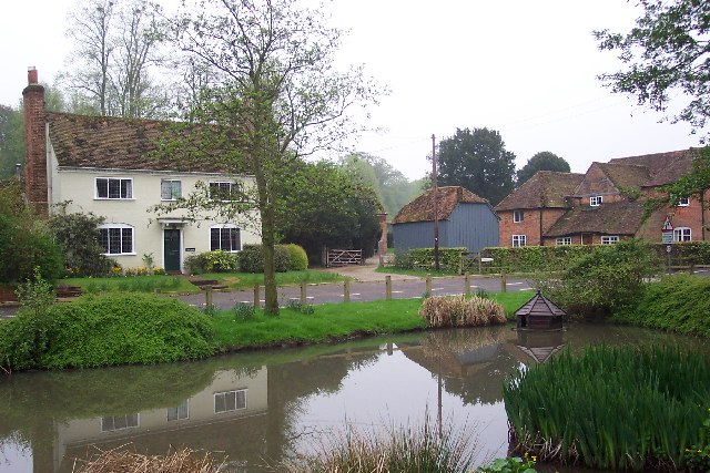The Pond at Upton Grey