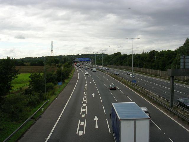 M60, Eccles, Manchester