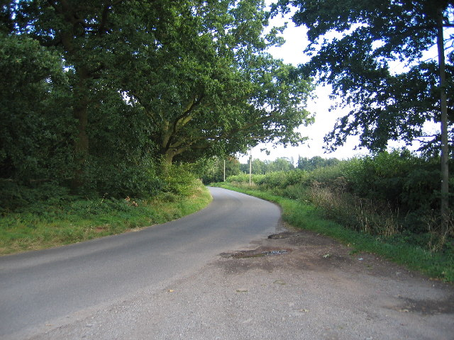 Crackley Lane and Wood