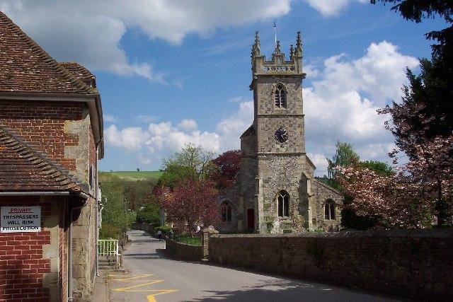 Great Wishford church