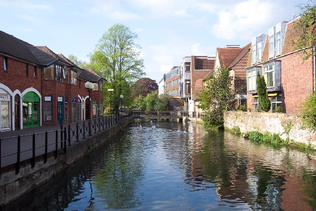 The River Avon and The Maltings, Salisbury