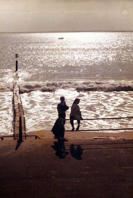 Groynes on Southbourne Beach