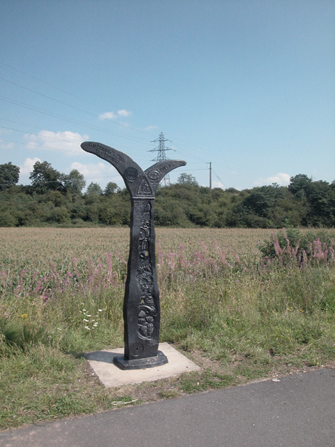 Cycle Network Milepost