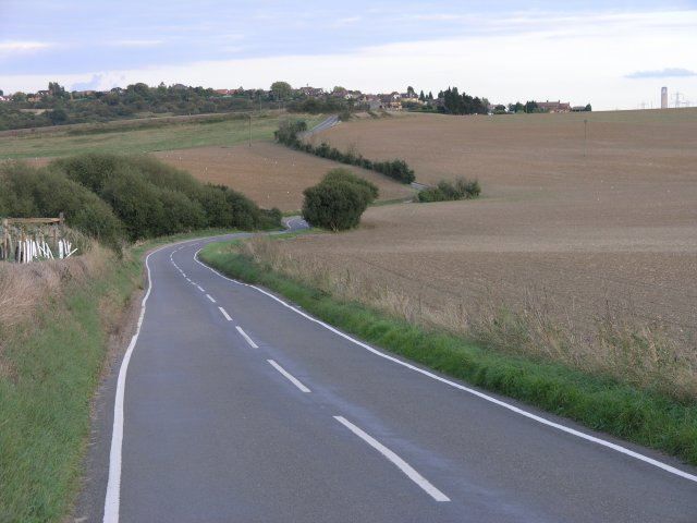 Country road on the Hoo Peninsula