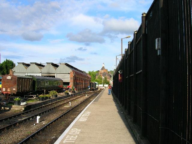 Spa Valley Railway terminus, Tunbridge Wells