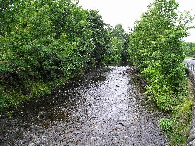 River Garnock at Glengarnock