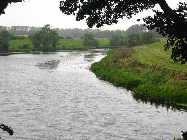 Carmelhill Reservoir.