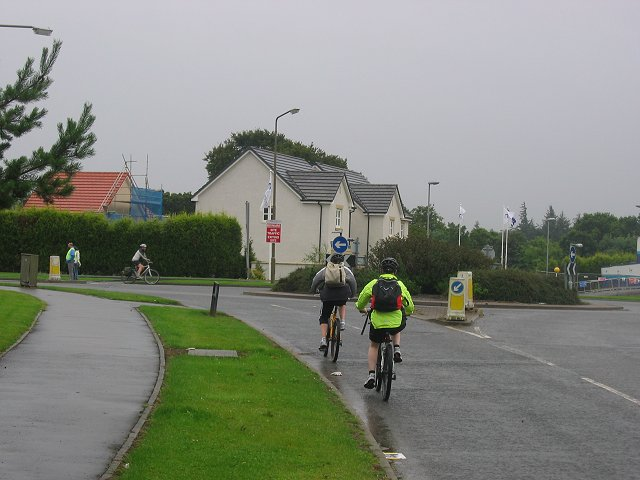 New housing, Kirkliston