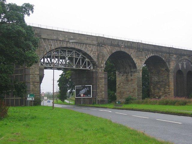 Viaduct, A89.