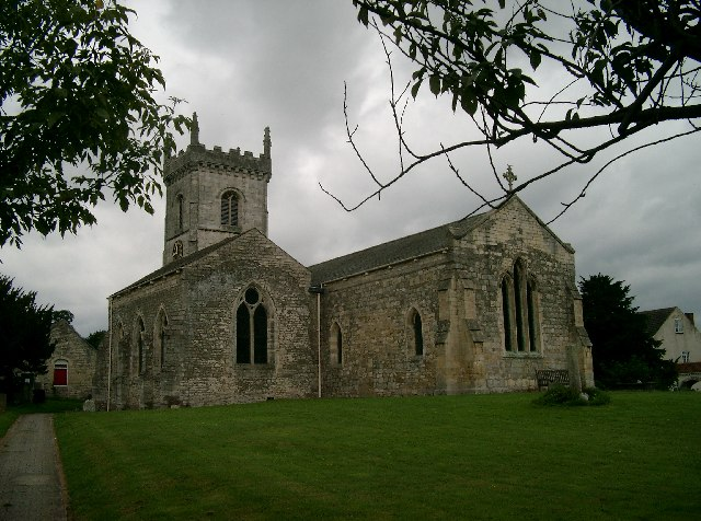 All Saints' Church, Saxton