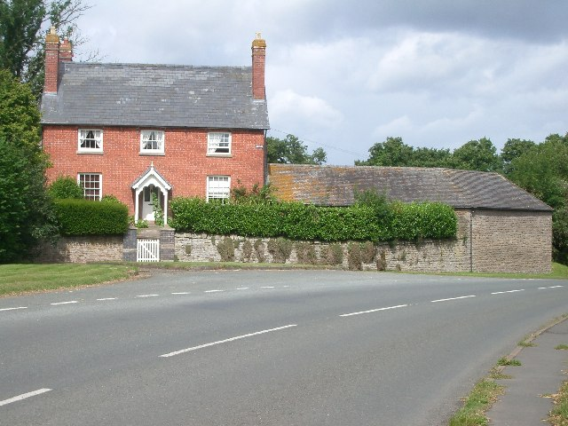 House at Instone, just south of the former railway bridge