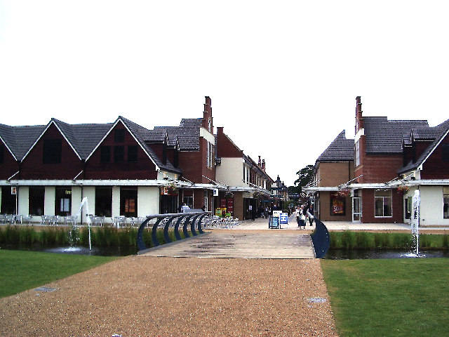 Springfields Factory Outlet and Festival Gardens