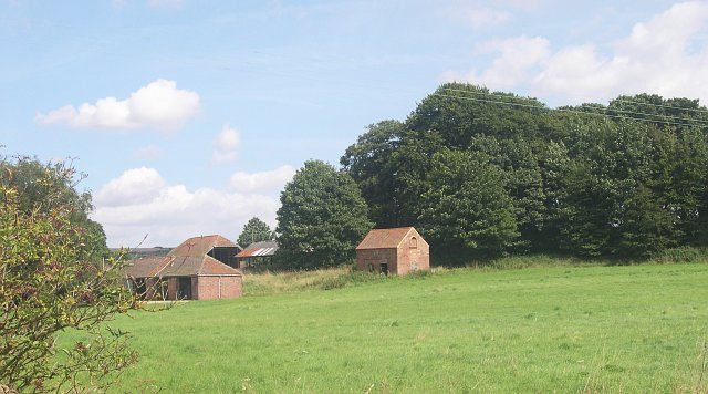 Farm Buildings behind Asterby House