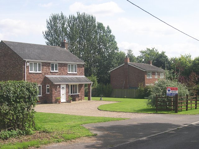 New housing in Goulceby village