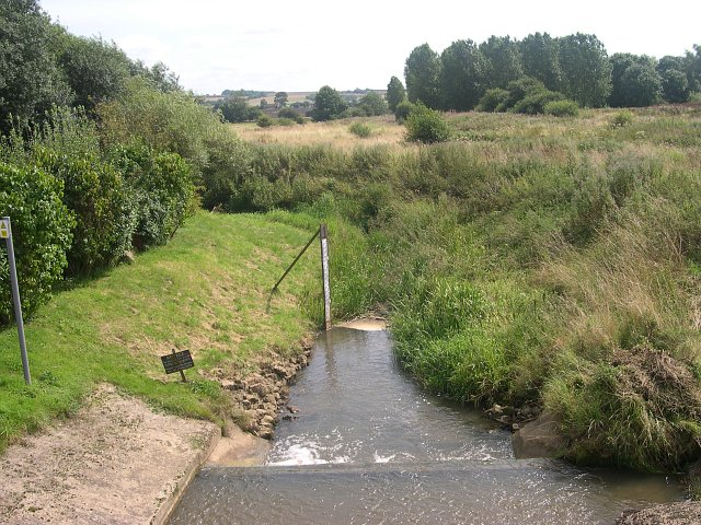 The River Bain near Bain House