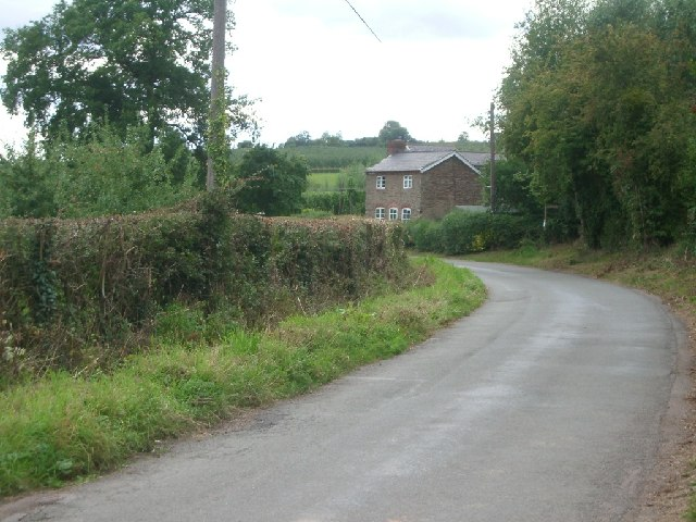 The lane between Evesbatch and Bishops Frome