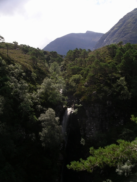 Waterfall, Allt Coire Roill