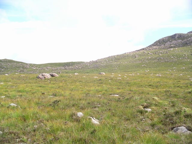 NW ridge, Beinn na h-Eaglaisen