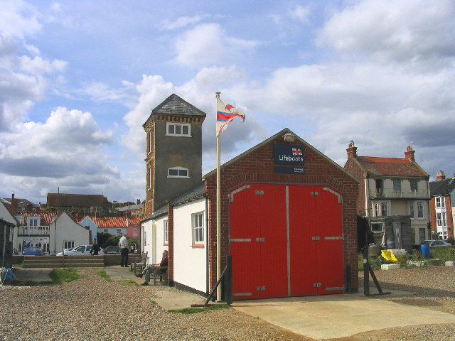 Lifeboat Station, Aldeburgh, Suffolk