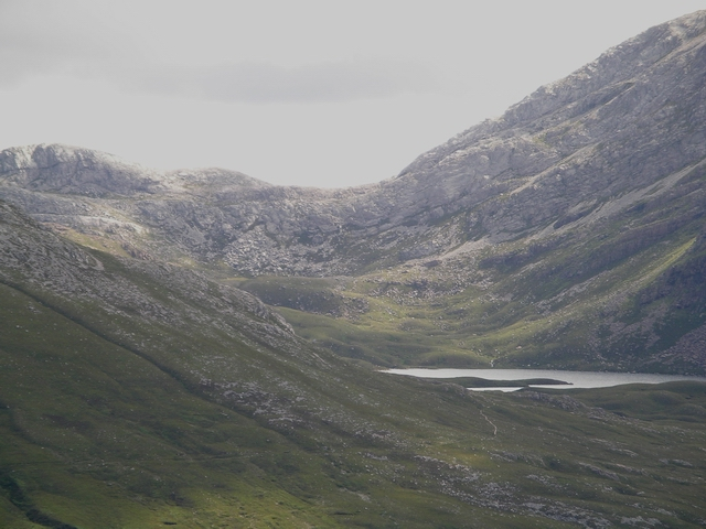 Loch Coire an Ruadn-stac
