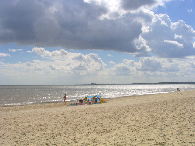 Beachscene, Walberswick, Suffolk