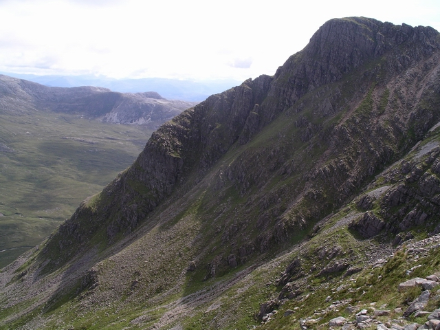 E ridge, Beinn Damh