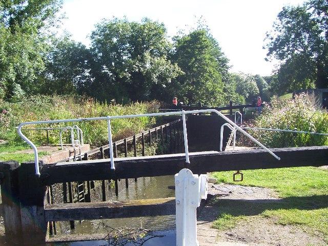 Garston lock, Lock 102 on Kennet & Avon canal