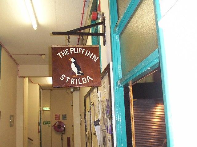 'Puff Inn' sign, St Kilda