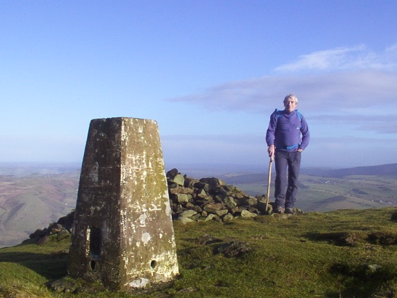 Trig point, Corndon Hill