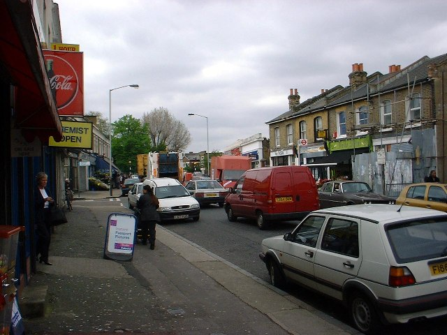 Evelina Road - Heavy Traffic