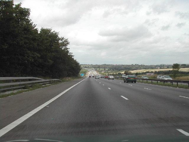M1 Motorway, Nottinghamshire