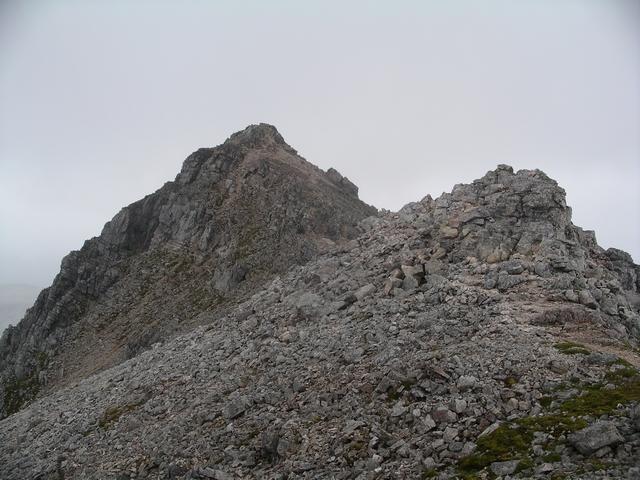 Summit, Spidean Coire nan Clach, Beinn Eighe