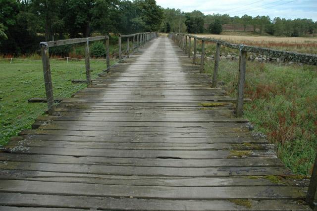 The rickety bridge, Monymusk