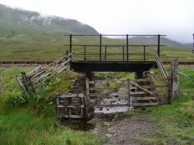 Railway bridge, Glen Carron