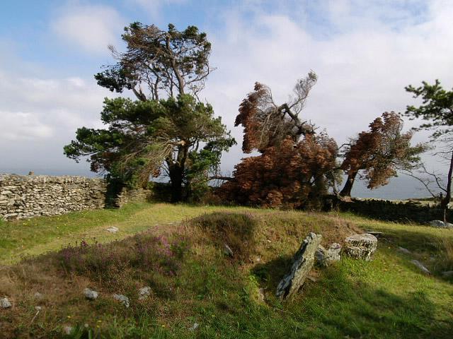 Ballafayle cairn, Maughold.  Isle of Man.