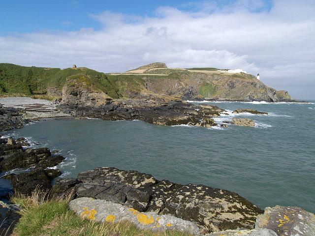 Gob ny Port Mooar.   Isle of Man.