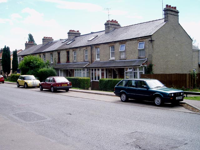 Terraced houses, Cherry Hinton Road