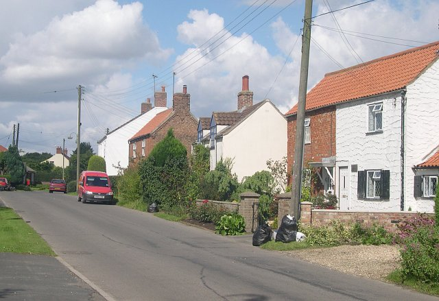 Village houses in South Street, Tetford
