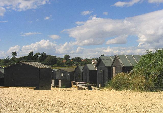 Beach Huts, Walberswick, Suffolk