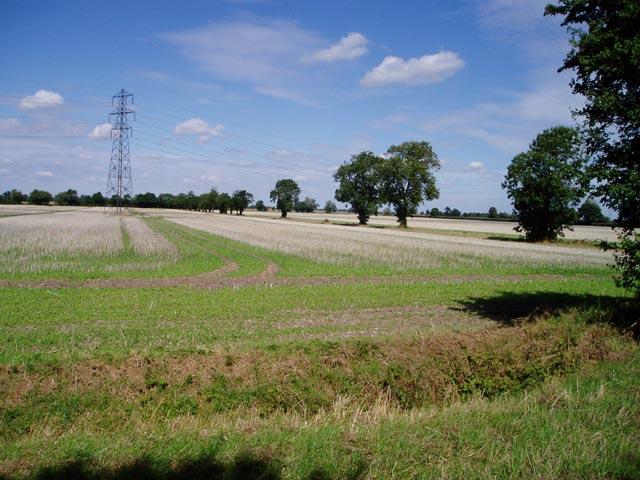 Farmland near Snout Corner