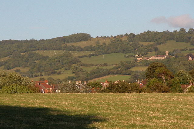 View from King's Square, Bitton.