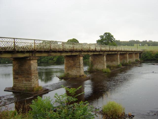 Bridge over the Tyne at Wark