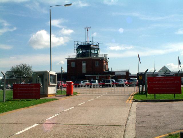 Biggin Hill Airport - passenger terminal
