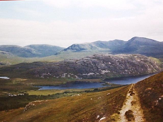 Loch Nam Ealachan and Loch More