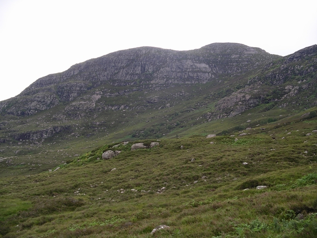 N Face of Meall Garbh