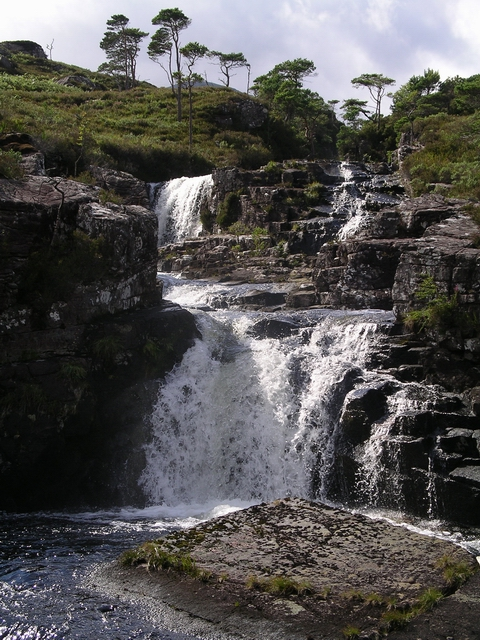 Waterfall, Garbh Allt
